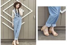 DUNGAREES ARE HERE TO STAY / How to combine your dungarees