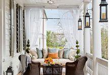 southern porches / by Dawn Manzaro