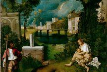 La Tempesta di Giorgione, 1506 / Giorgione (1476-1510)