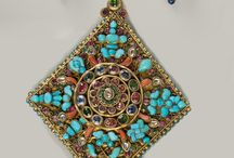 Nepal, Tibet silver coral and turquoise
