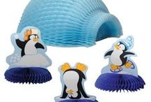 Penguin Party Ideas and Decorations / Celebrate your next party with chilly Penguin Friends! We have searched around for the cutest Penguin Party Ideas and Penguin Party Decorations to make your Penguin Theme party special. We have added out own favorites too!