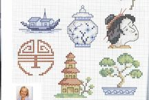 Cross stitch - asian others