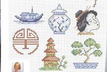Cross stitch - asian others