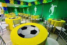 Decoração festa tema: futebol