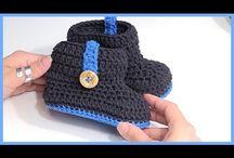 編み物 くつ