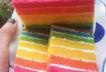 Ranbow cake