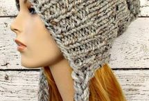 hats funky knitted