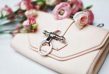 Cream, Blush Rosegold Inspiration Board / What Are We Pinning? Cream Blush Tones
