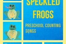 Counting Songs / Counting songs and other musical number activities. Brilliant for teaching toddlers how to count.