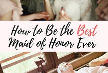 How to >maid of honor<