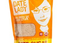 Date Lady Product Line / The Date Lady Product Line: Organic Dates, Pure Date Syrup, Coconut Caramel, Date Caramel, Date Chocolate, Date Sugar & Date Balsamic Vinegar // Organic, Gluten Free, Non-GMO, Kosher