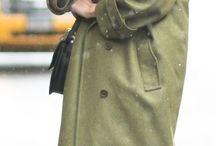 A single item: Long coats
