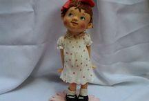 Dolls cold porcelain Porcelana fría / muñecas, dolls, porcelana fría, biscuit, figuras,