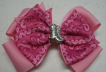 Hair Bows / by Donna Funk