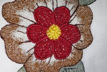 Free hand machine embroider / What my Friend Maggie Kruger teaches