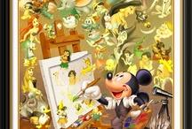Disney art / by Gary Barnett