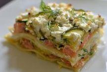 lasagnes samon
