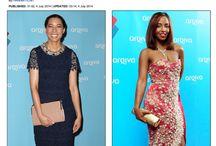 Celebrities wearing Nina Naustdal
