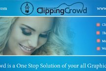 Clipping Crowd / Clipping Crowd™ is a One Stop Solution of your all Graphic Design need. It's a complete online solution for the cutting out of images, in few simple steps, Upload your images using our online up loader, Rate the complexity yourself and submit your job. Clipping Crowd services are as follows:  ♣ Clipping Path  ♣ Photo Masking  ♣ Multiple Clipping Path  ♣ Web Image Optimization  ♣ Photo Editing Service  ♣ Shadow & Reflection  ♣ Color Correction  ♣ Photoshop Retouching