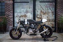 - custom cafes - / pretty//badass cafe bikes