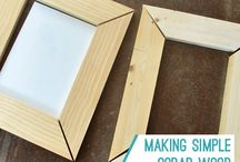 DIY picture frames / by Jessica Ehler