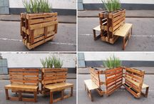 Spring Pallet Projects / All sorts of ways to use pallets in your home and garden this Spring
