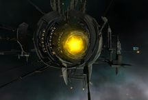 Portals, jumpgates & wormholes / How do you get from place to place in space? use a spacegate of course! A portal to another star system, allowing your spaceship to jump there immediately without the bother of warp travel