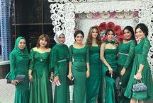 contoh seragam bridesmaid