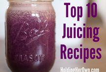 Juicing recipes & info