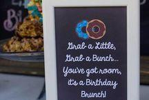 Breakfast birthday