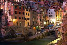 Italia / Riomaggiore, Cinque Terre.  Liguria, Italy.