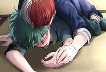 Izuku x Shoto