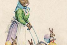 Vintage Easter Cards ❤