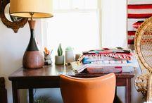 Decor // home office / O seu lugar de trabalho pode ser também confortável e importantíssimo: inspirador