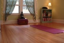 :: Yoga Spaces :: / Guide to creating yoga spaces at home!