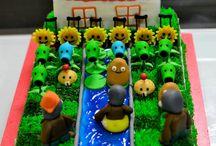 plant vs zombie cake