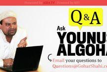 #askYounusAlGohar