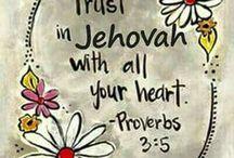 Lita på Jehova / Kort
