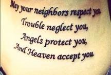 tattoos / by Allie Burkepile