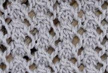 Knitting stitches / Dog Rose Stitch