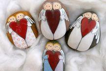 Andělé kamínky