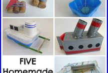 Recycled Art and Crafts / reuse those things!