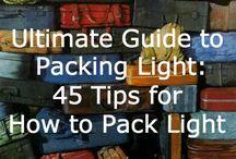 Ideas para llenar maletas