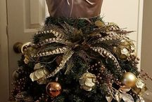 Fashion Inspired Christmas Trees Made From Dress Forms