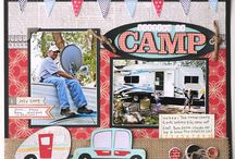 Scrapbook Pages: Camping