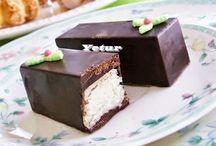 çikolatalı  &  herçeşit   yiyecekler