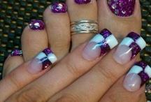 Anna Rose's nail and toenail art