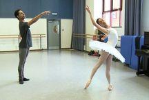 Studio rehearsal videos / Birmingham Royal Ballet in studio rehearsals at the Company's Midlands HQ