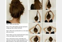 fashion and hairstyles / wicked way to make a messy bun