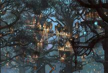 Fairytale villages etc